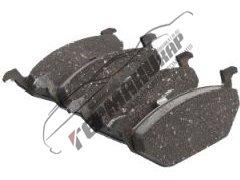 Тормозные колодки передние поло седан 2012